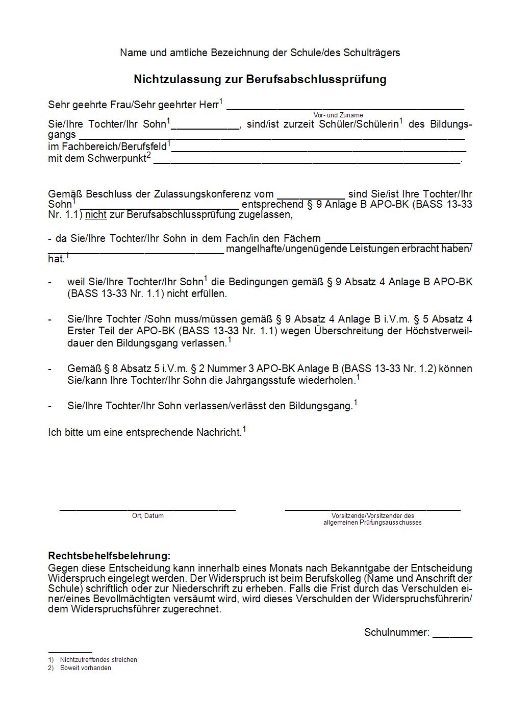Bass 20182019 13 33 Nr 11 Verordnung über Die Ausbildung Und