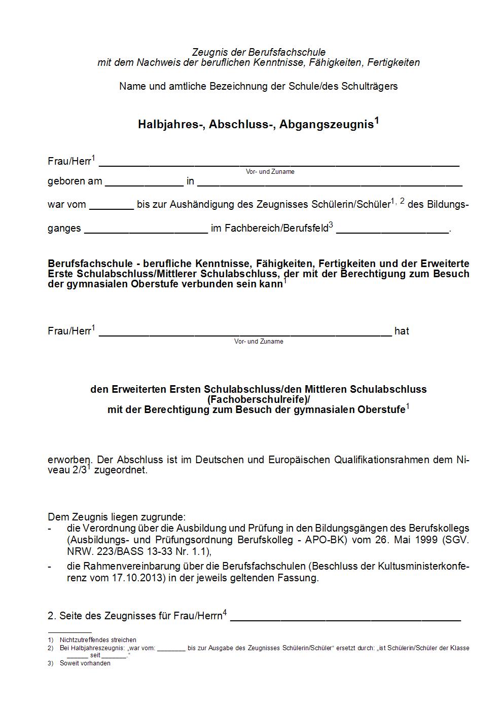 BASS 2019/2020 - 13-33 Nr  1 2 Verwaltungsvorschriften zur